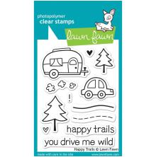 Lawn Fawn Clear Stamps 3X4-Happy Trails