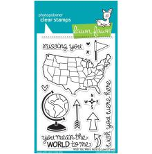 Lawn Fawn Clear Stamps 4X6 - Wish You Were Here