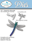Elizabeth Craft Metal Die - Dragonfly Silhouette