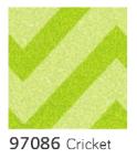 American Crafts POW Glitter Paper 12x12 - Cricket Chevron