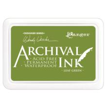Ranger Archival Ink Pad Wendy Vecchi - Leaf Green