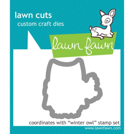 Lawn Fawn Custom Craft Die - Winter Owl