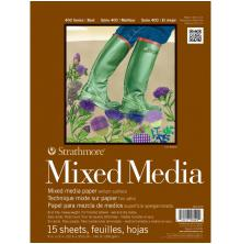 Strathmore Mixed Media Vellum Surface Paper Pad 9X12 - 15 Sheets