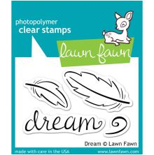 Lawn Fawn Clear Stamps 3X2 - Dream