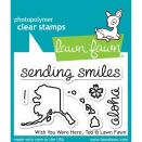 Lawn Fawn Clear Stamps 3X2 - Wish You Were Here, Too