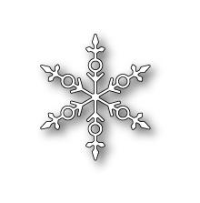 Poppystamps Die - Stravia Snowflake