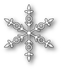 Memory Box Poppystamp Die - Stravia Snowflake