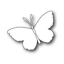 Poppystamps Die - Whidbey Butterfly