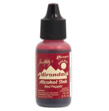 Adirondack Earthtones Alcohol Ink .5oz - Red Pepper