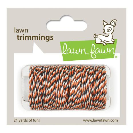 Lawn Fawn Trimmings Hemp Cord 21yd - Spooky