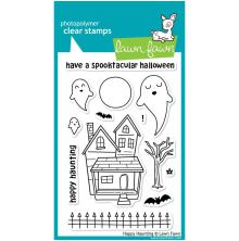Lawn Fawn Clear Stamps 4X6 - Happy Haunting