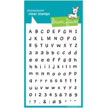 Lawn Fawn Clear Stamps 4X6 - Harolds ABCs