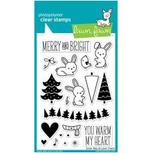 Lawn Fawn Clear Stamps 4X6 - Snow Day