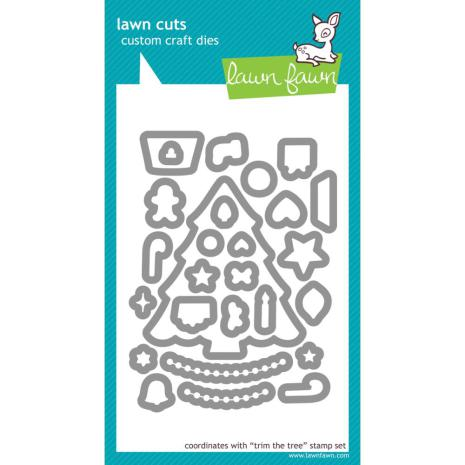 Lawn Fawn Custom Craft Die - Trim The Tree