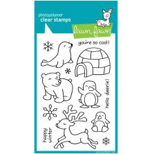 Lawn Fawn Clear Stamps 4X6 - Critters In The Snow