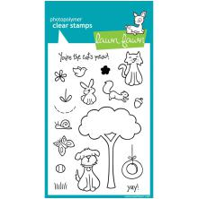 Lawn Fawn Clear Stamps 4X6 - Critters In The Burbs