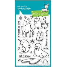 Lawn Fawn Clear Stamps 4X6 - Critters In The Arctic