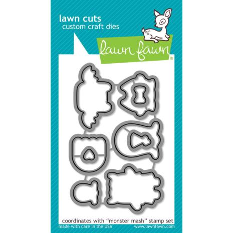Lawn Fawn Custom Craft Die - Monster Mash