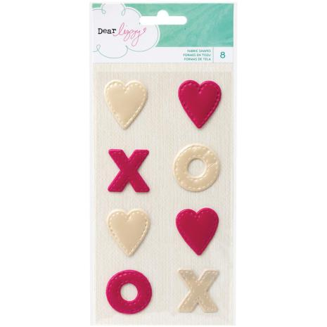 American Crafts Dear Lizzy Serendipity Fabric 8/Pkg - Shapes UTGÅENDE