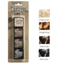 Tim Holtz Distress Mini Ink Kits - 3