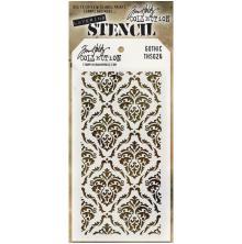 Tim Holtz Layered Stencil 4.125X8.5 - Gothic