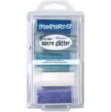Stampendous Micro Glitter Kit 5/Pkg - Winter