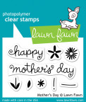 Lawn Fawn Clear Stamps 3X2 - Mothers Day