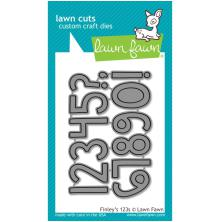 Lawn Fawn Custom Craft Die - Finleys 123s