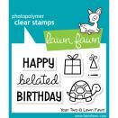 Lawn Fawn Clear Stamps 3X2 - Year Two