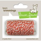 Lawn Fawn Trimmings Hemp Cord 21yd - Coral
