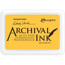 Ranger Archival Ink Pad Wendy Vecchi - Buttercup