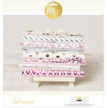 Heidi Swapp Paper Pad 12X12 12/Sheets - Minc 5th Avenue