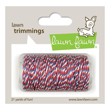 Lawn Fawn Trimmings Hemp Cord 21yd - Liberty