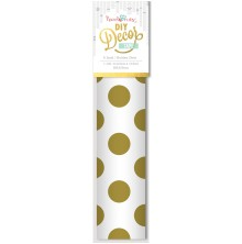 Hazel and Ruby 8 Inch DIY Decor Tape - Golden Dots UTGÅENDE