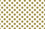 Hazel and Ruby 8 Inch DIY Decor Tape - Golden Dots UTGÅENDE