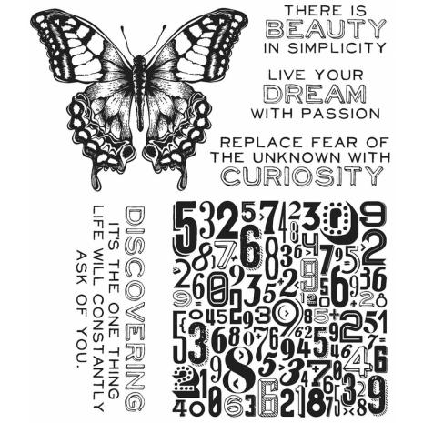 Tim Holtz Cling Stamps 7X8.5 - Perspective