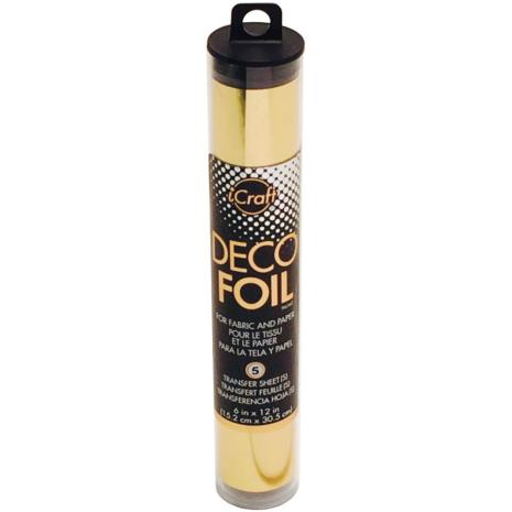 Thermoweb Deco Foil 6X12 5/Pkg - Gold