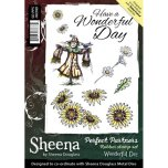 Sheena Douglass A5 Rubber Stamp Set - Wonderful Day UTGÅENDE