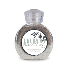 Tonic Studios Nuvo Glitter Collection – Silver – 704n