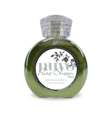 Tonic Studios Nuvo Glitter Collection – Olive Green - 701n
