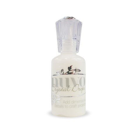 Tonic Studios Nuvo Crystal Drops Collection – Gloss White 651n