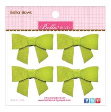 Bella Blvd Bella Felt Bows 4/Pkg - Pickle Juice UTGÅENDE