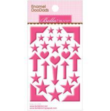 Bella Blvd Enamel Stickers 3X4.75 - Punch Doodads UTGÅENDE