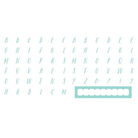Lifestyle Letterpress Plates - Handwritten UTGÅENDE