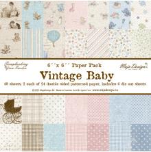Maja Design Paper Pack 6x6 - Vintage Baby
