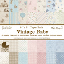 Maja Design Paper stack 6x6 - Vintage Baby