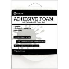 Ranger Adhesive White Foam Roll 1/2X1/16X2yd