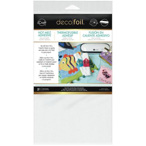 Thermoweb Deco Foil Iron-On Adhesive Transfer Sheet 5.5X12 5/Pkg