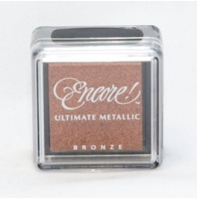 Encore Ultimate Metallic Small Inkpad - Bronze