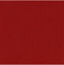 Bazzill Cardstock Mono 12X12, 25/Pkg - Canvas/Maraschino